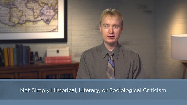 Contemporary Theology - Session 36 - Theological Interpretation of Scripture