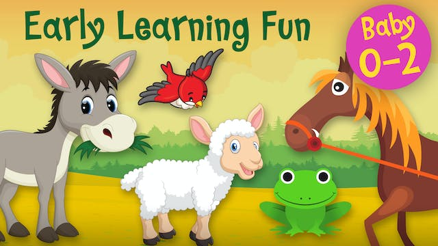 Animal Sounds Vol.2 | Early Learning Fun