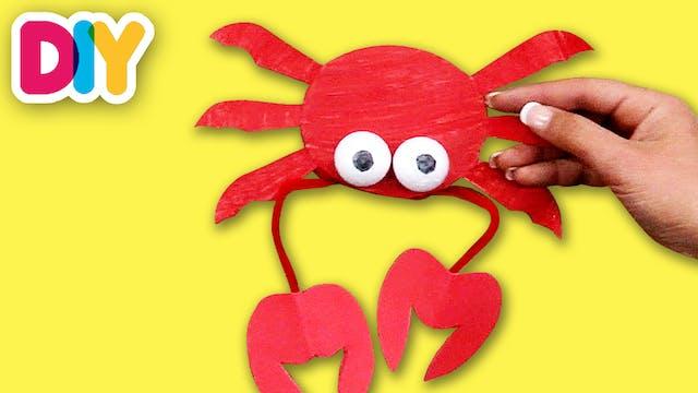 Crab | Paper Plate Craft