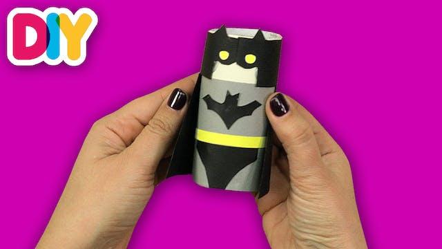 Batman   Paper Roll Craft