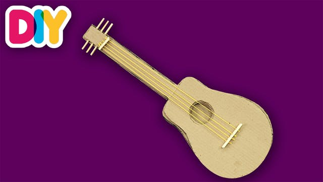 Guitar | Paper Craft