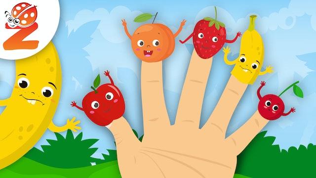 Finger Family | Fruit Version | Animated Songs