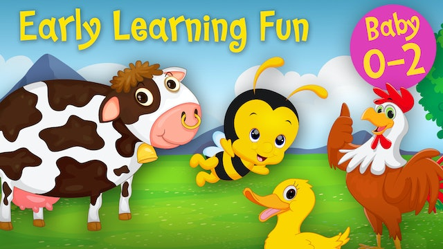 Animal Sounds Vol.1 | Early Learning Fun