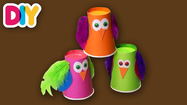 Owl | Paper Cup Craft