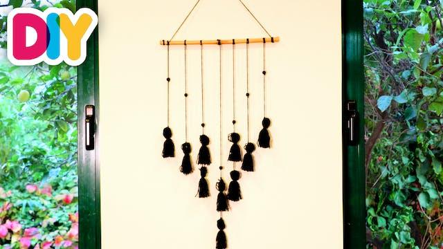 Tassel Wall Decor | Yarn Craft