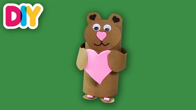 Love Bear | Paper Roll Craft