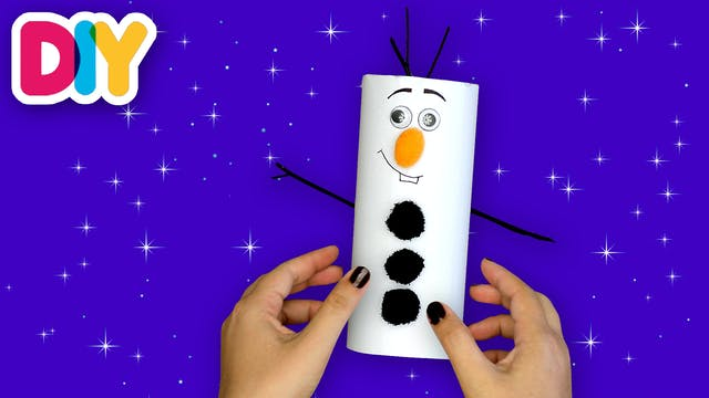 Olaf | Paper Roll Craft