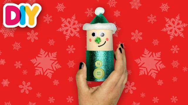Elf Decoration | Paper Roll Craft