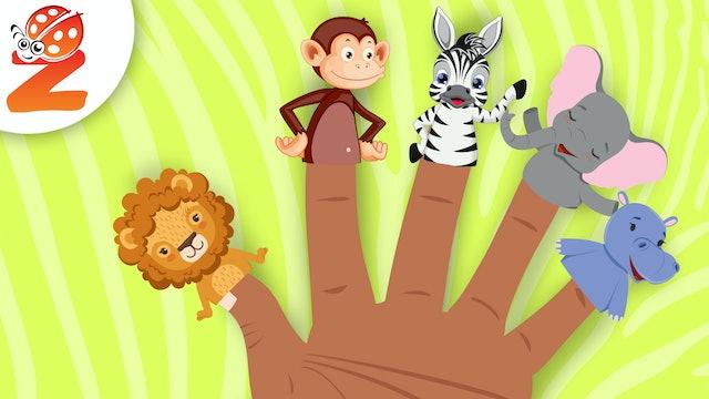 Finger Family | Savanah Version | Animated Songs
