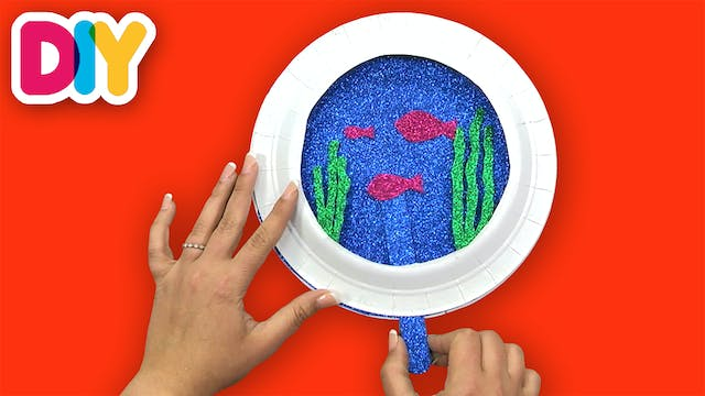 Fish Bowl | Paper Plate Craft