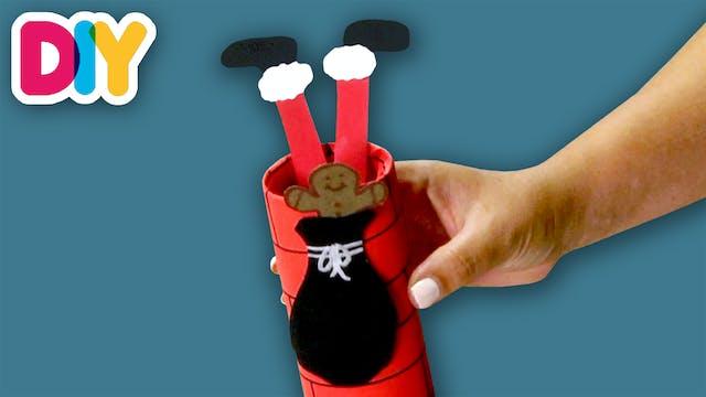 Santa Stuck in Chimney | Paper Roll C...