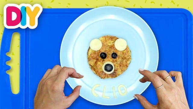 Bear | Zucchini Pie Snack