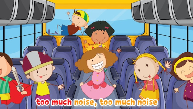 The Wheels On The Bus | Animated Songs