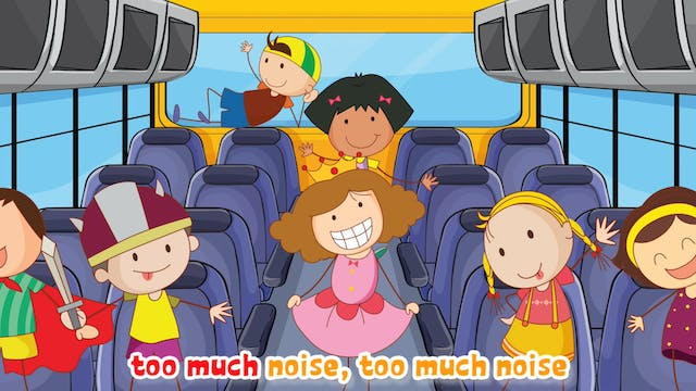The Wheels On The Bus   Animated Songs
