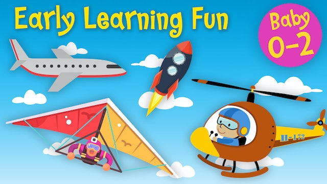 Means of Air Transportation Vol.3 | Early Learning Fun