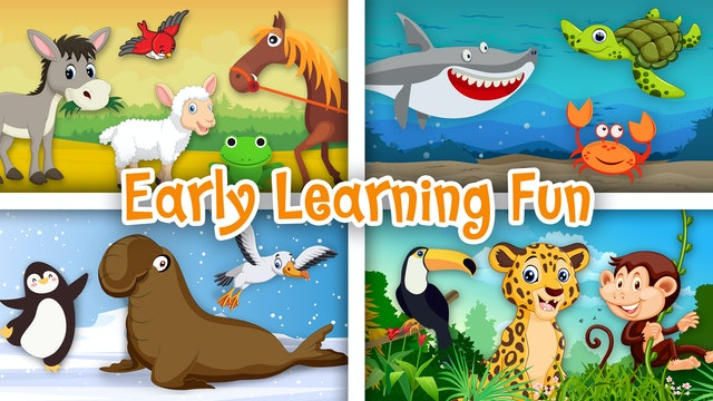 Early Learning Fun | Educational Series | Numbers, Colors and Sounds