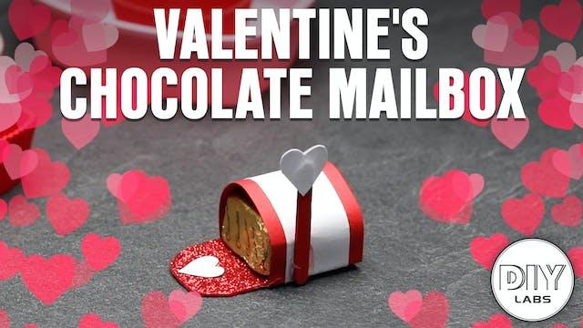 Valentine's Chocolate Mailbox
