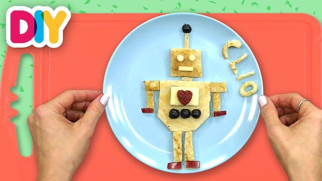 Robot | Banana Pancake Breakfast