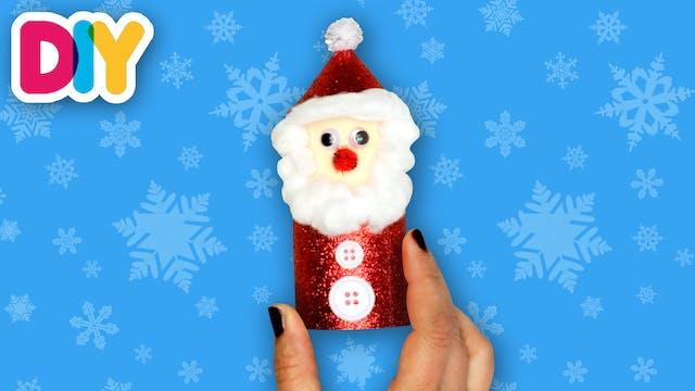 Santa Decoration | Paper Roll Craft