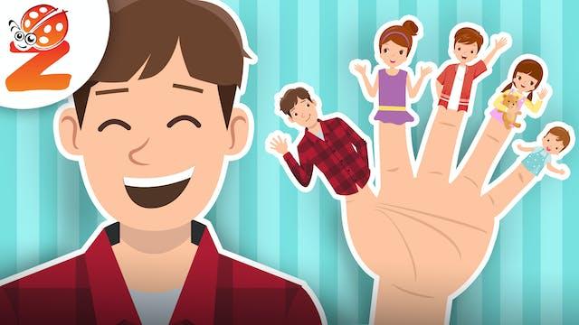 Finger Family | Family Version | Anim...