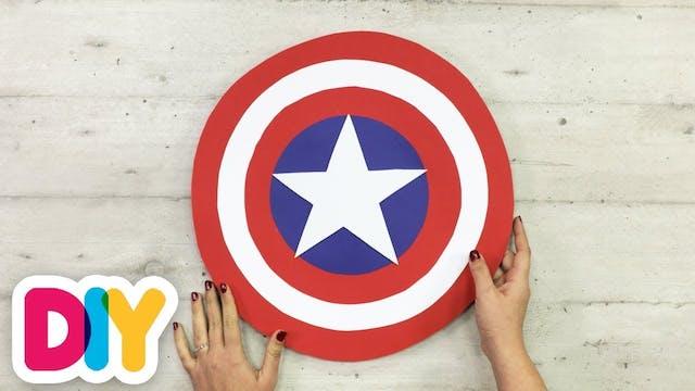 Captain America Shield | Paper Craft