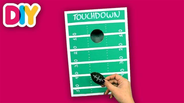 Mini Football Cornhole Game | Shoebox...