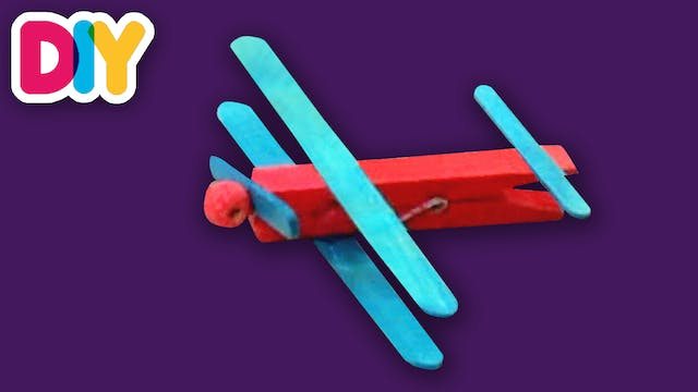 Airplanes | Clothespin Crafts
