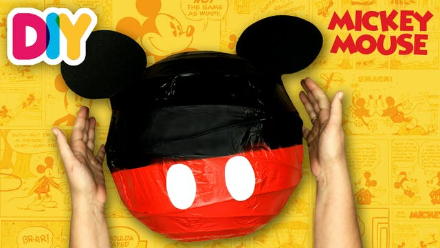 Mickey Mouse Centerpiece   Paper Craft