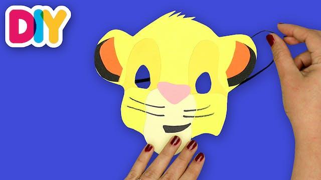Simba Mask | Paper Craft