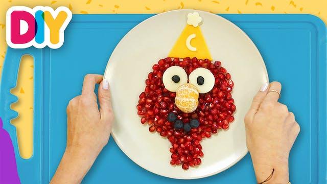 Elmo | Pomegranate Snack