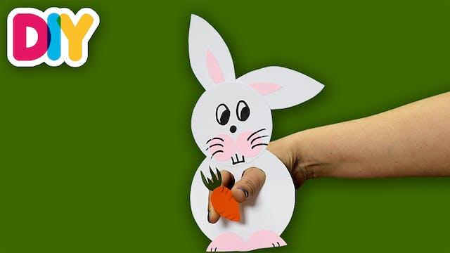 Bunny | Finger Puppet Craft