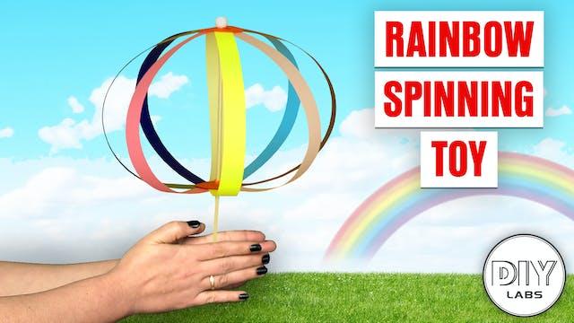 Rainbow Spinning Toy