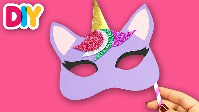 Unicorn Mask | Paper Craft