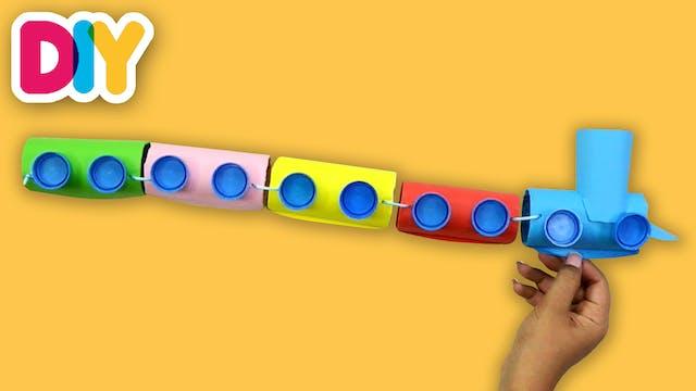 Train | Paper Roll Craft