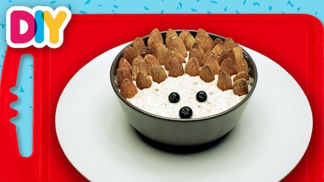 Hedgehog | Oatmeal Recipe with Almonds
