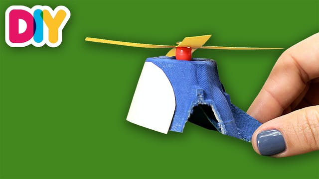 Helicopter | Egg Carton Craft