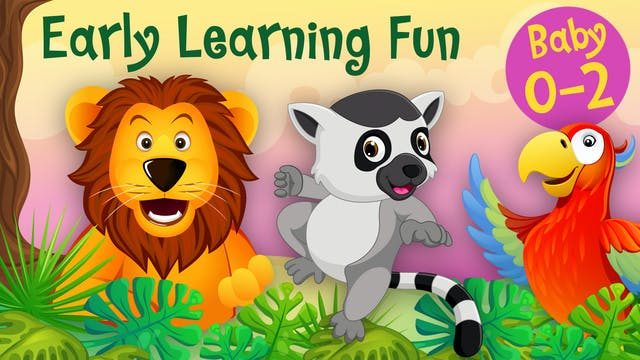 Jungle Animals Vol.1 | Early Learning...