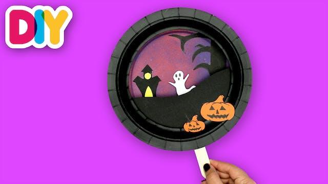 Halloween Spooky Scene | Paper Plate ...