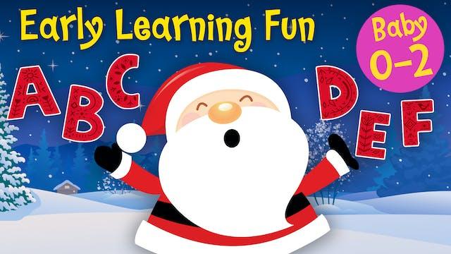 The Christmas Alphabet | Early Learni...