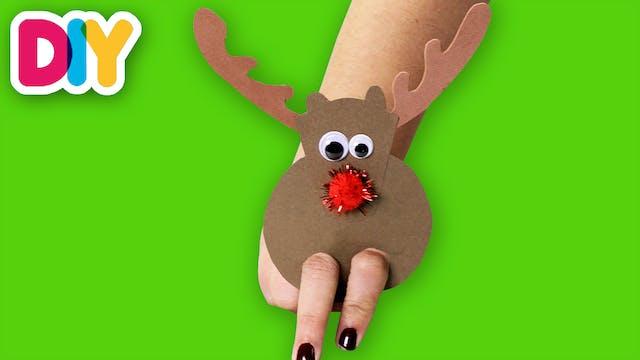 Rudolph | Finger Puppet Craft