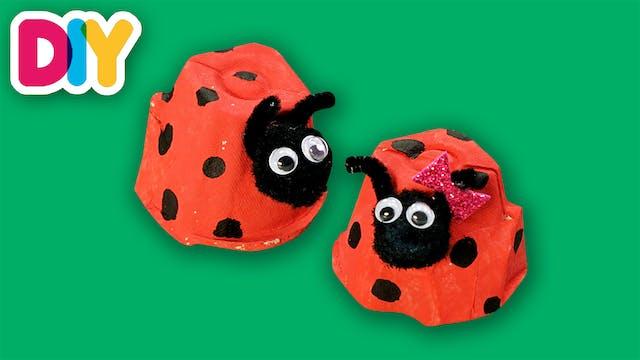 Ladybug | Egg carton