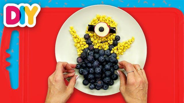 Minion | Blackberry & Corn Snack