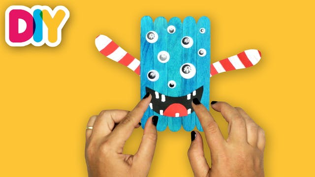 Crafts Monster | Popsicle Stick Craft