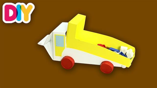 Truck | Recycled Milk Carton Craft