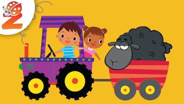 Baa Baa Black Sheep | Animated Songs