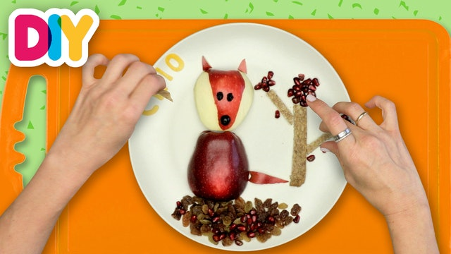 Fox | Apple Snack
