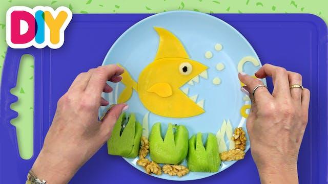 Baby Shark | Cheese & Kiwi Snack