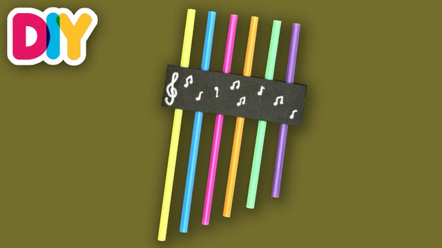 Pan Flute | Craft for kids