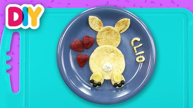 Easter Bunny | Banana Pancake Dessert