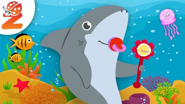 Baby Shark | Animated Songs